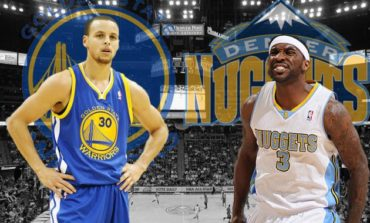Nuggets quitan invicto a Warriors; Clippers ganan a Rockets, sin Paul